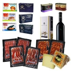 summer pack ham wine oil gourmet