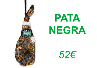 Iberian pata negra Spanish shoulder ham 4.750Kg [PROMO September]