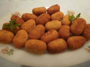 Recipe: Serrano ham and cheese croquettes