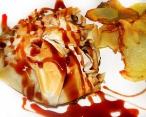 beef bags onion spanish ham