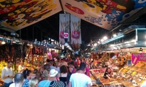 boqueria market barcelona tourist spot
