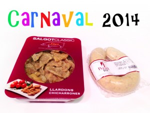 carnival 2014 sausage chicharrones