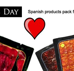 For this year's Valentine's Day… Love and Spanish ham!!!