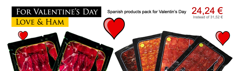 For this year's Valentine's Day... Love and Spanish ham!!!