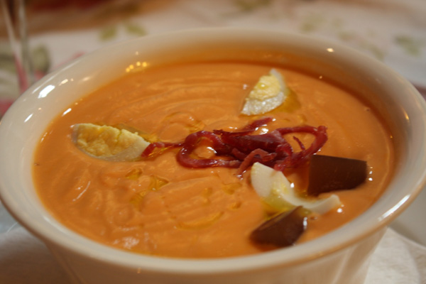 Salmorejo cold soup for hot days