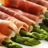 Recipe: Asparagus wrapped in serrano ham
