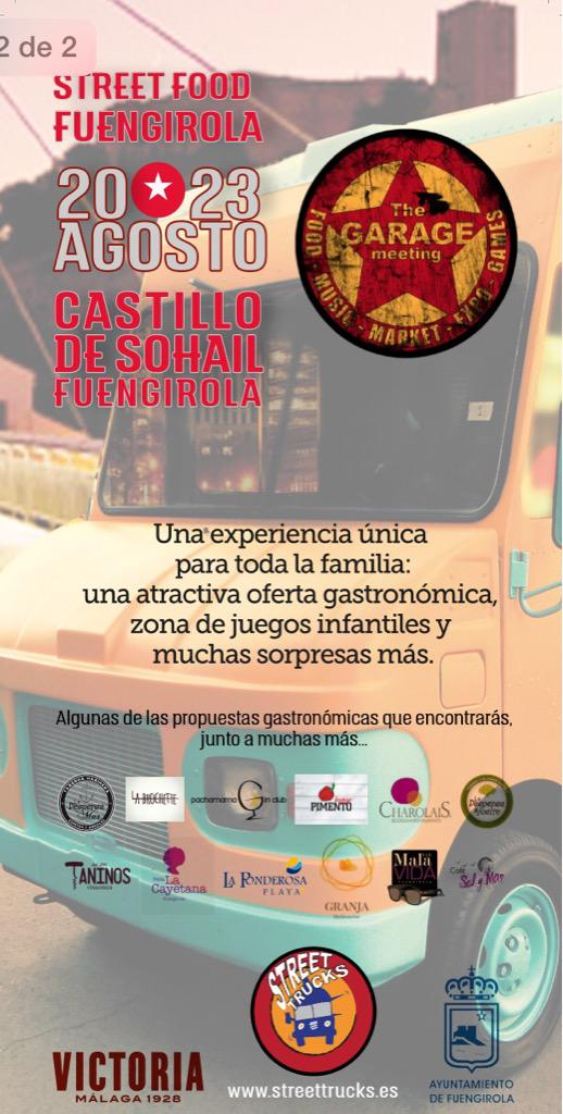 Fuengirola Street Food, a food festival on food trucks