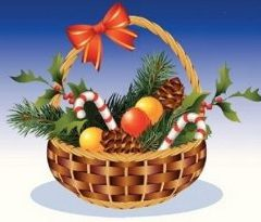 Where does the idea of Christmas Hampers come from?