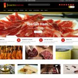 We improve our online store selling hams and Iberian sausages
