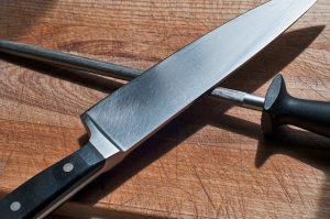 how sharpen ham knife