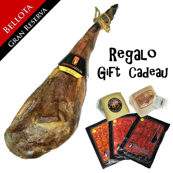 """Bellota iberian ham """"Gran Reserva 2009"""" + FREE gourmet pack"""