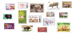 pig stamps