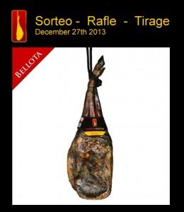 25 years raffle barcelona