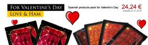 spanish ham valentine day pack
