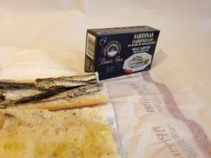 ramon peña sardine sandwich