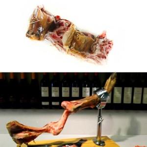broth ham bones