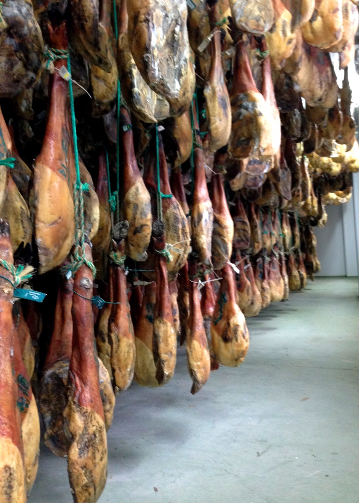why hanging hams preservation