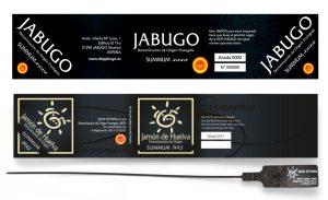 label 100% iberico hams shoulders do jabugo
