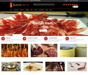 online store selling hams and Iberian sausages
